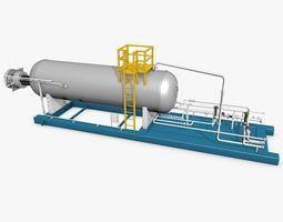 Industrial Boiler Construction 3D