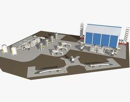 Industrial Scene Model model