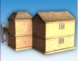 Blocks Village6 3D asset