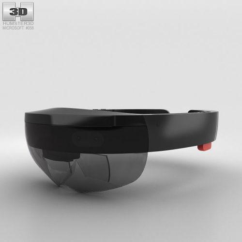 microsoft hololens 3d model max obj mtl 3ds fbx c4d lwo lw lws 1