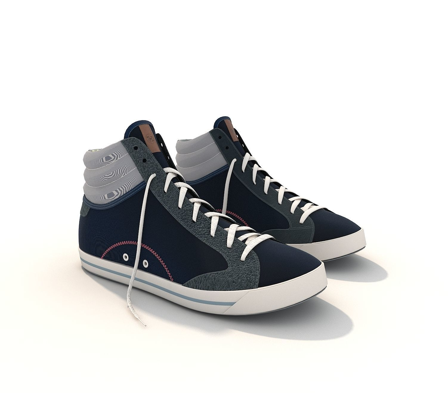 ... sport shoes 2 3d model max obj fbx mtl 5 ... a405c9b88