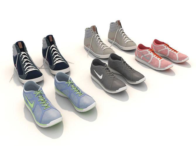 sport shoes 2 3d model max obj fbx mtl 1 ... 601e5de6c