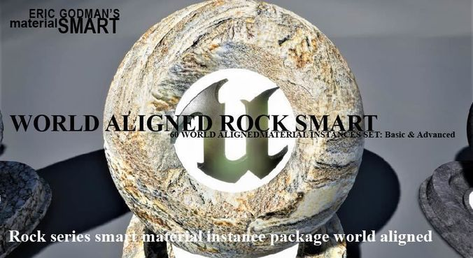 rock world aligned materials 3d model uasset 1