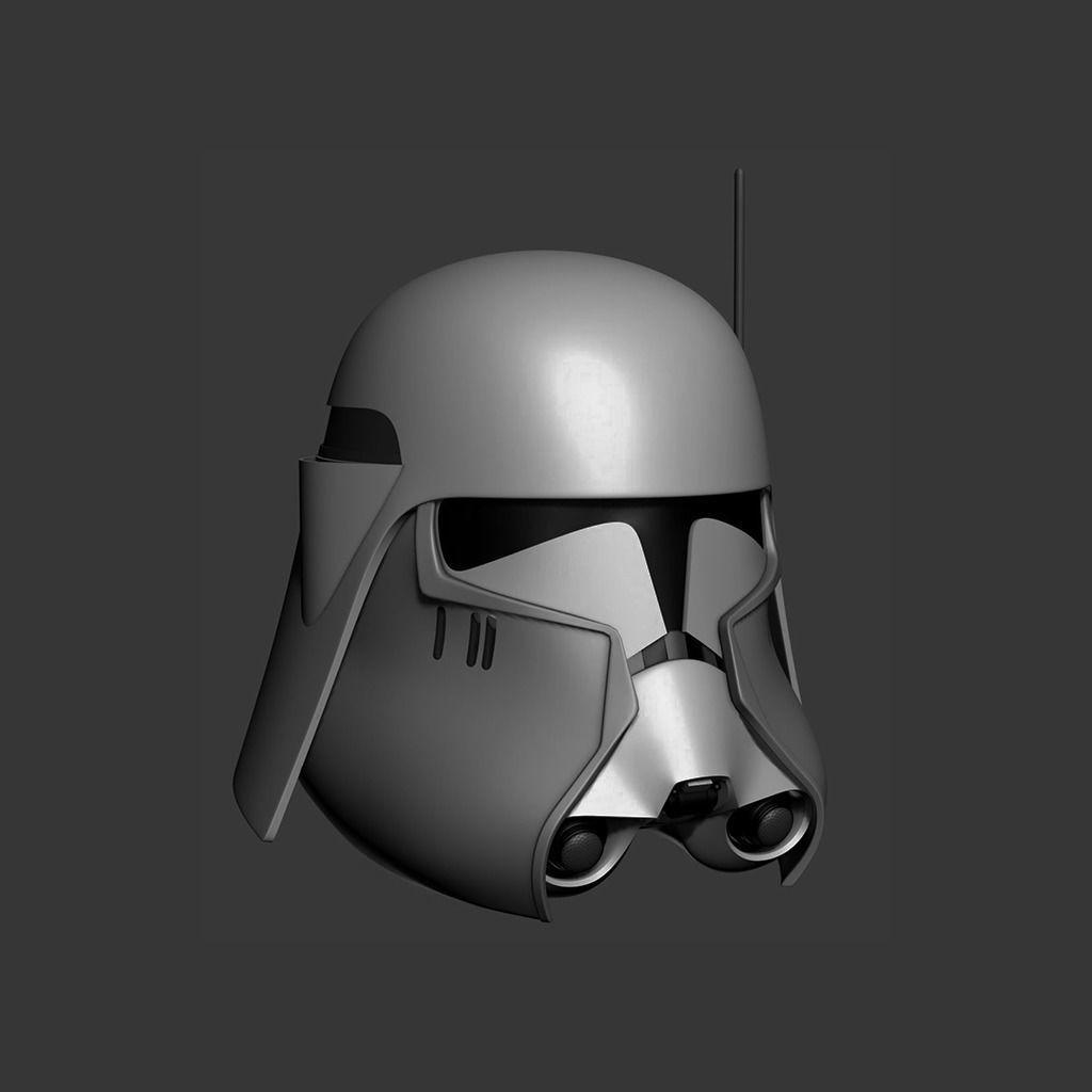 Commander Bacara Cosplay Helmet