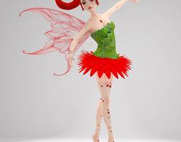 Fairy Felisha 3D rigged