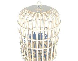 Bird cage 3D architectural