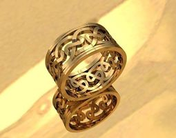 3D printable model jewellery ring photoreal