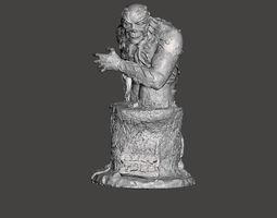 SWAMP THING BUST 3D printable model
