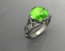 photoreal jewellery ring 3D printable model