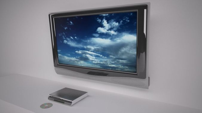 home cinema 3d model max 1