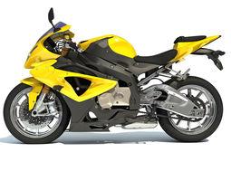 Generic Sport Bike 3D model