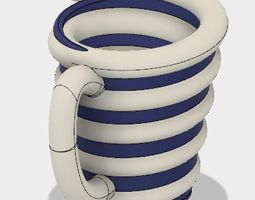 3D printable model Swirly Cup
