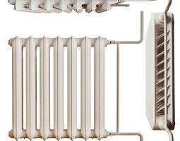 Cast iron radiator-MC 140 3D model