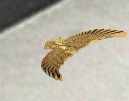 eagle 3D print model hunt