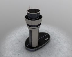 3D asset LBSF Control Tower