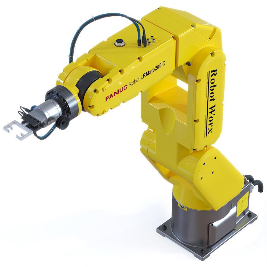 Fanuc Robotic Arm Manipulator   3D model