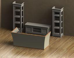 3D small livingroom