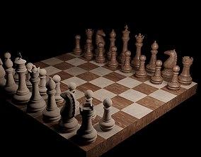 chess Chess 3D model