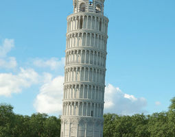 3D model Leaning Tower of Pisa