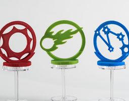 Eldritch Horror Gate Token Holders 3D printable model