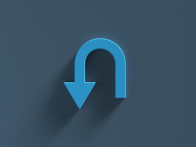 arrow standard turn 3d model obj mtl fbx ma mb 1