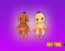 Baby Toons 3D model