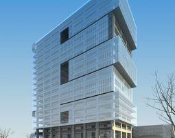 3D model Modern Commercial Building Design