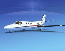 Cessna 500 Citation I V11 3D model