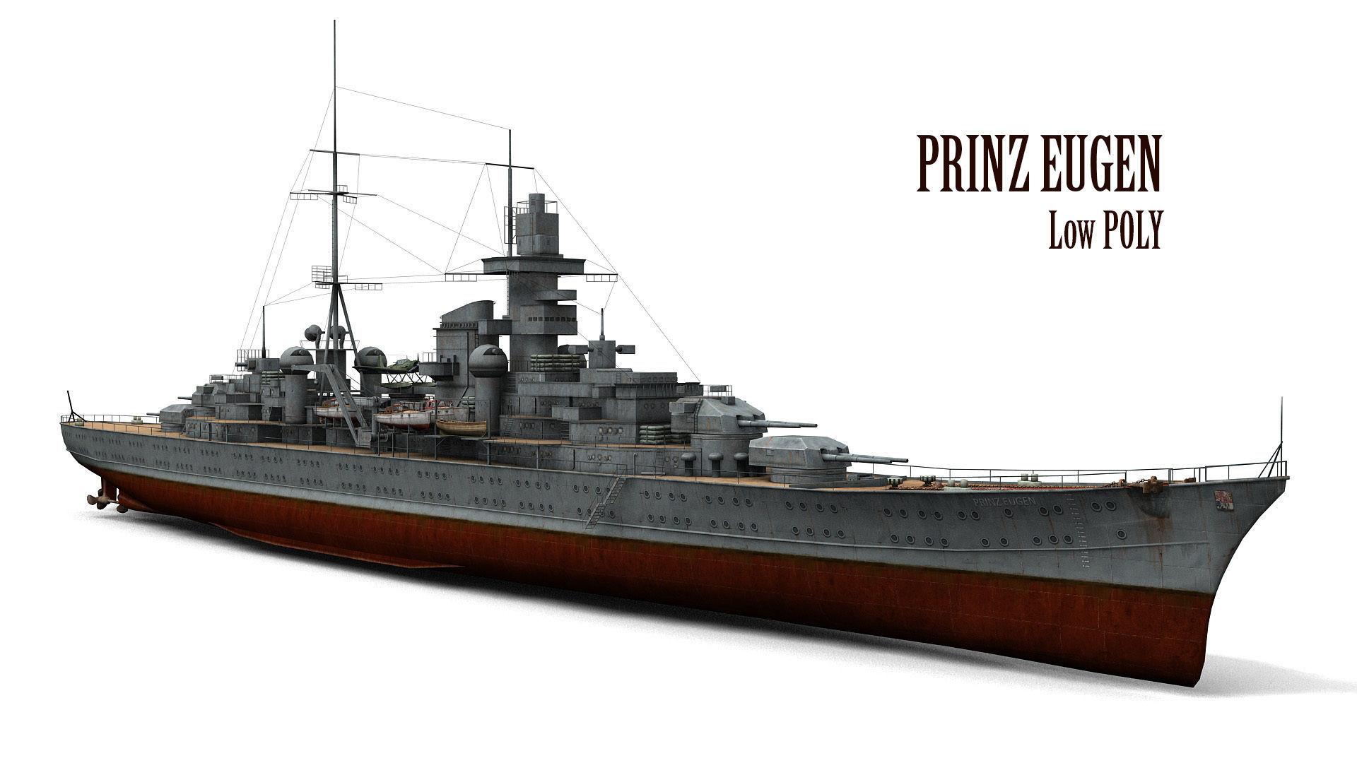 Prinz Eugen Cruiser