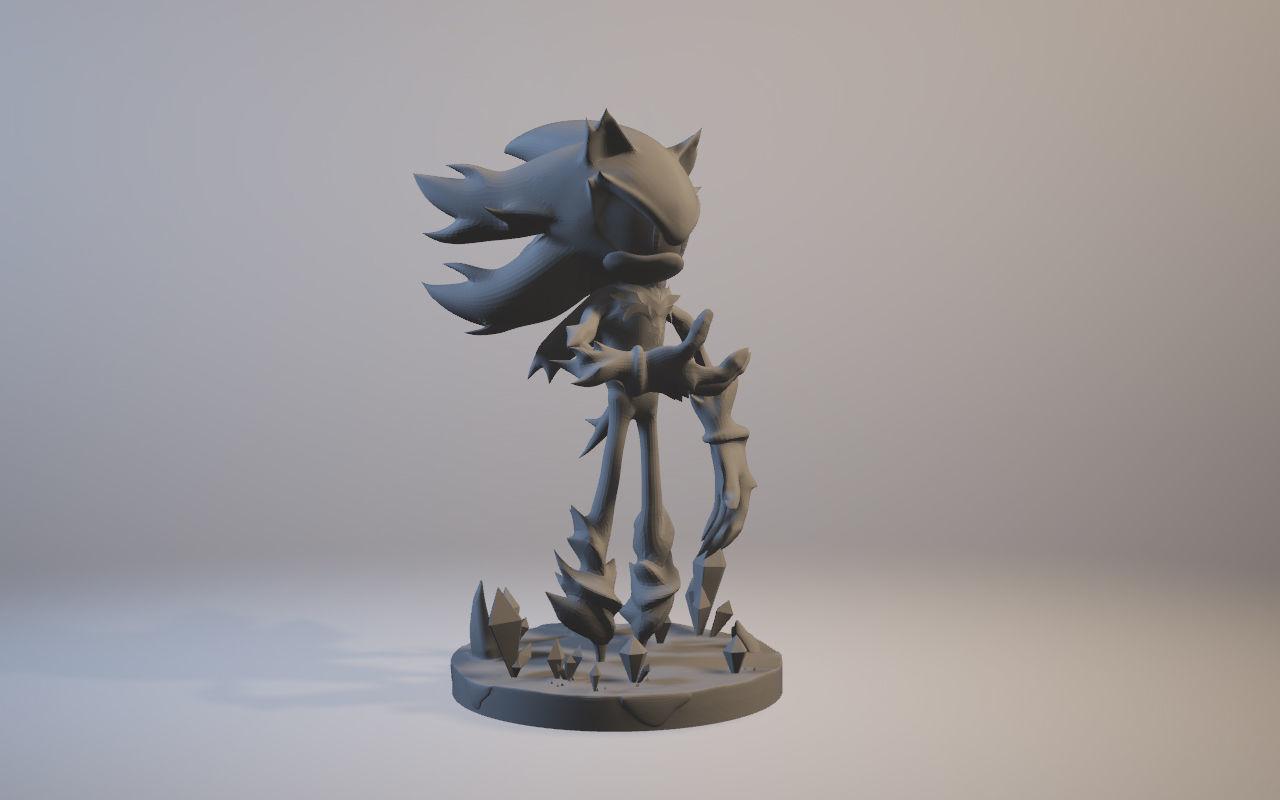Mephiles the Dark Sonic X