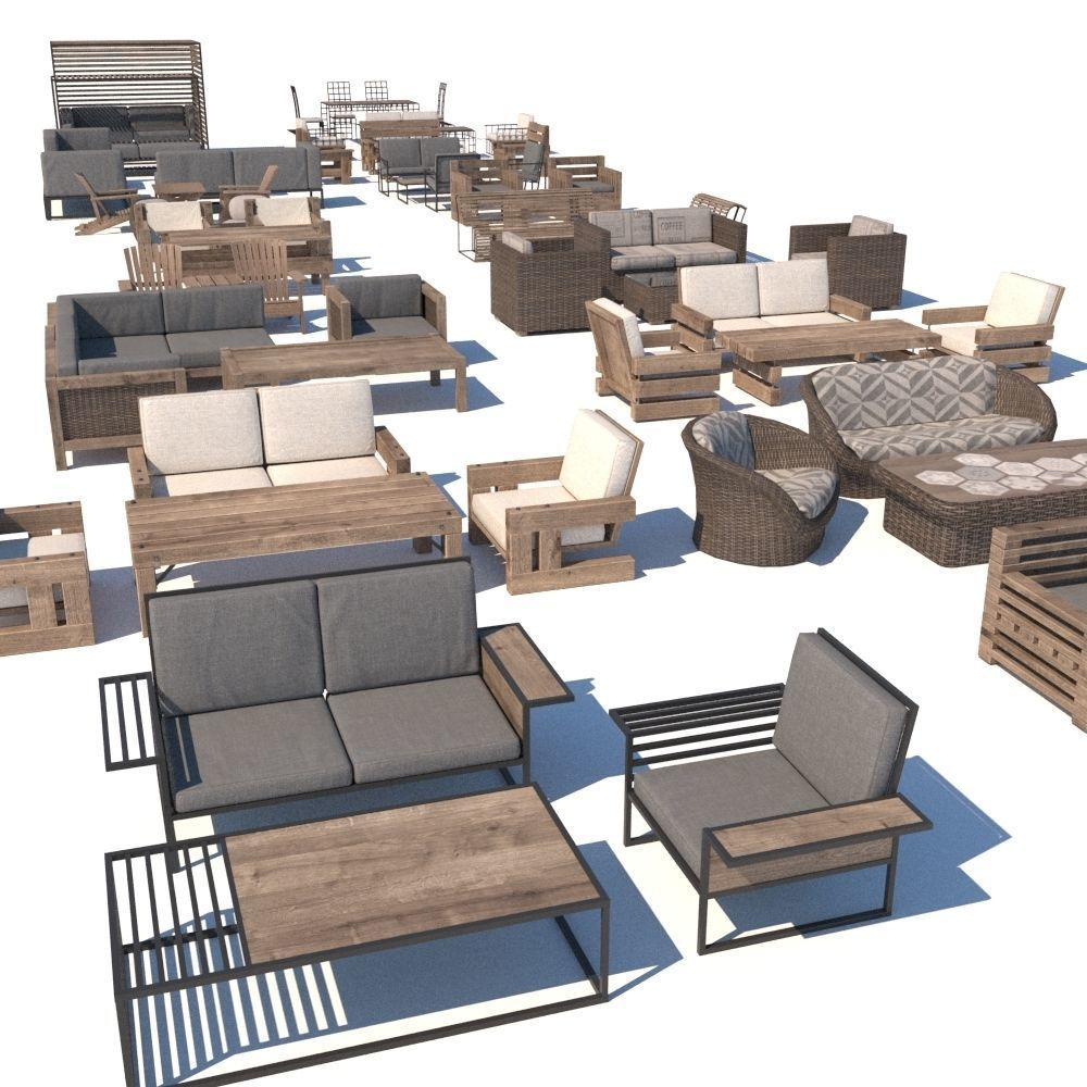 outdoor furniture collection model