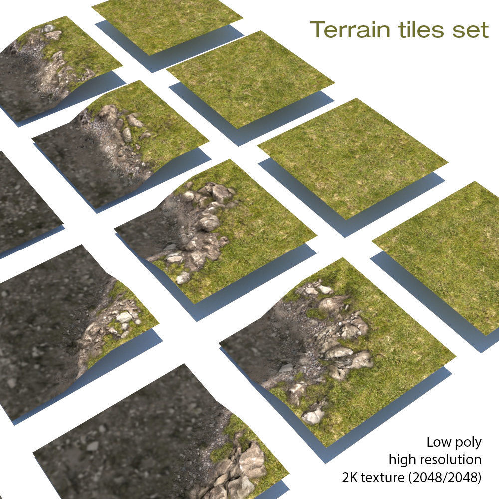 River Lake terrain modules