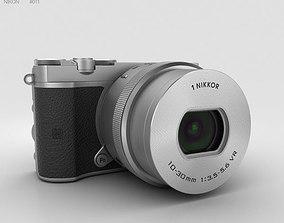 Nikon 1 J5 Silver 3D