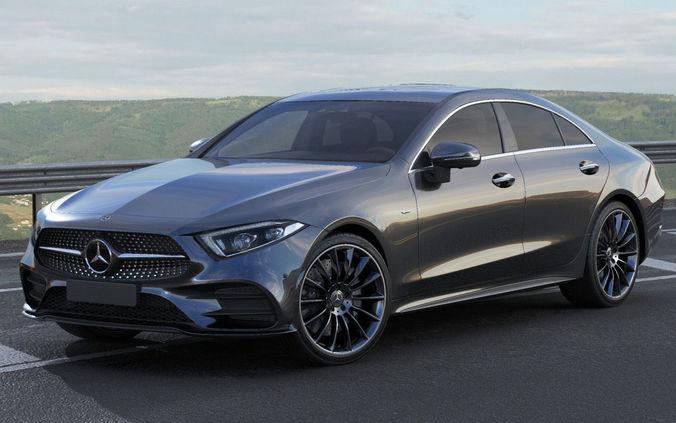3d Model Mercedes Benz Cls 2018 Amg Line Cgtrader