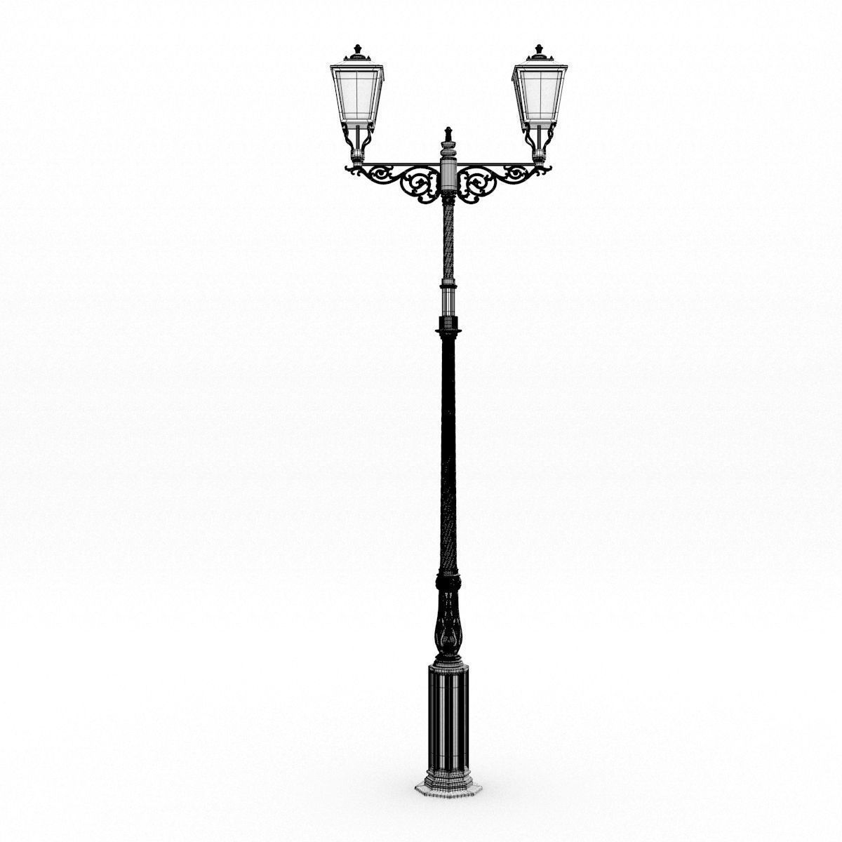 Cast Iron Street Lamp 3D model | CGTrader for Png Street Lamp  59nar