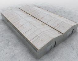 3D model PBR LKKV Double Hangar