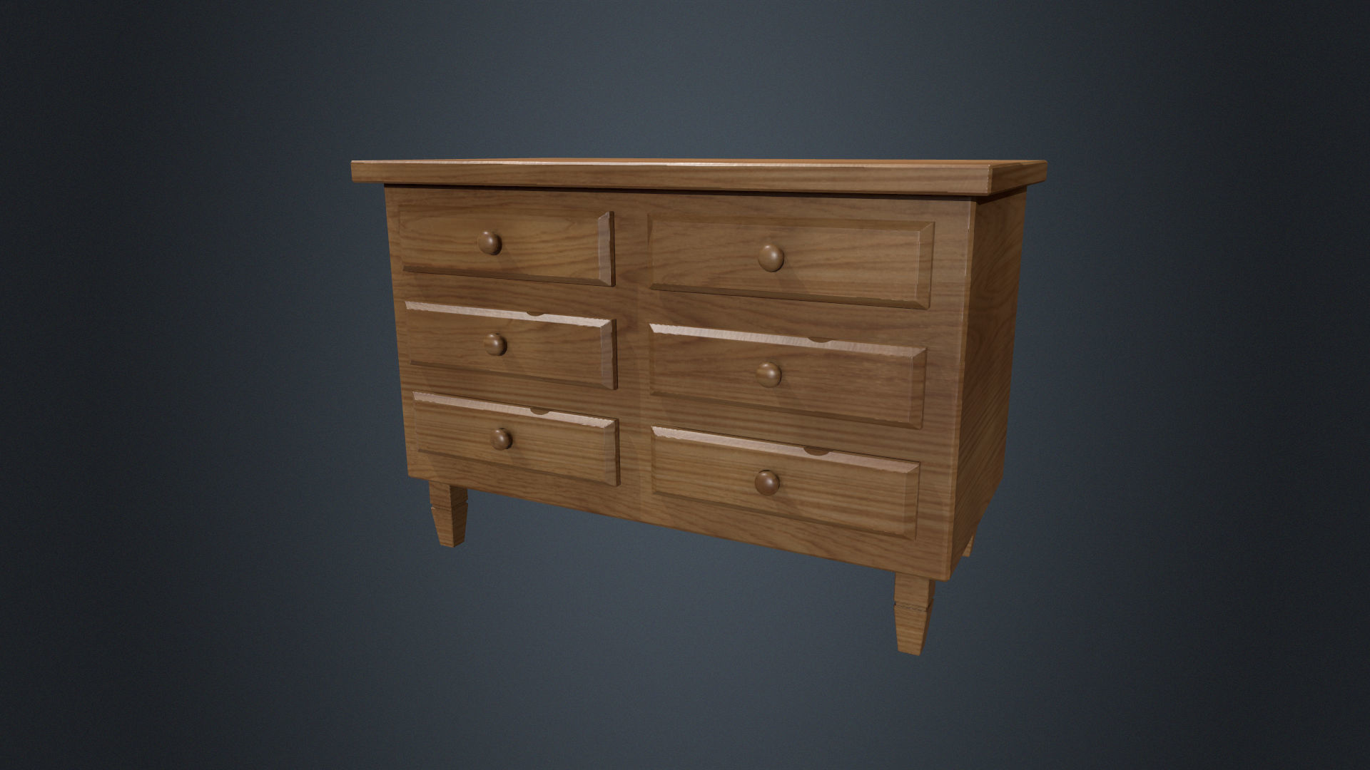 Incredible Beech Wood Chest Of Drawers Dresser Bedroom Furniture Wood 3D Model Download Free Architecture Designs Scobabritishbridgeorg
