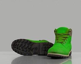 Men winter boots 3D asset