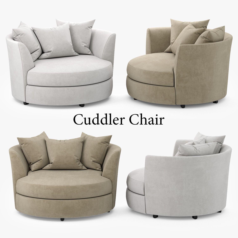 Cuddler Chair 3d Model Max Obj Fbx Mtl 1 ...