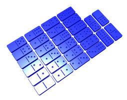 Full-sized Dominoes 3D printable model