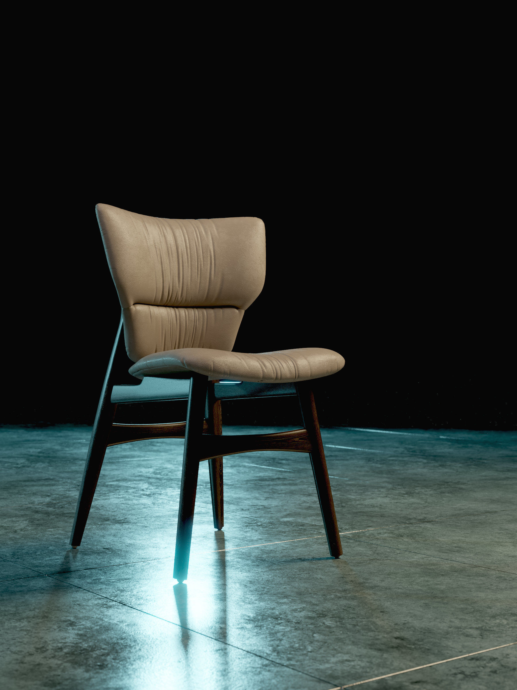 Excellent Cattelan Dumbo Chair 3D Model Caraccident5 Cool Chair Designs And Ideas Caraccident5Info
