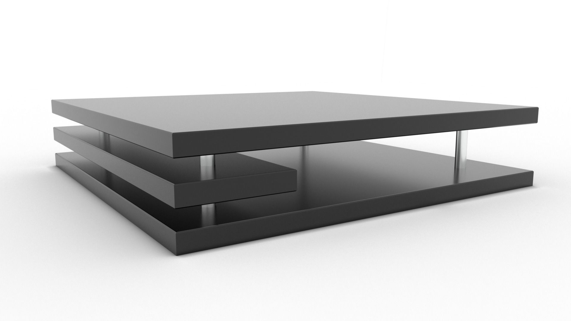 - Modern Contemporary Coffee Table 3D Asset CGTrader