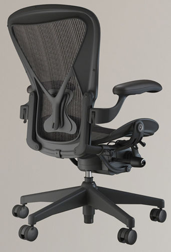 herman miller aeron chair 3d 3d model max obj 1 - Herman Miller Aeron Chair