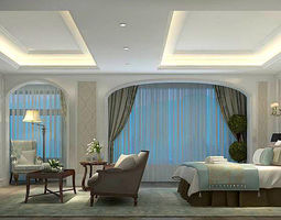 Bedroom - Modern Style - 9424 3D