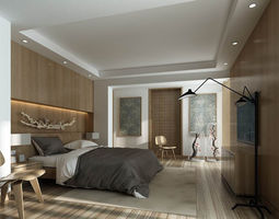 Bedroom - Chinese style -9406 3D