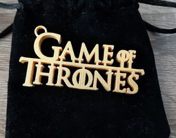 3D print model Game of Thrones keychain