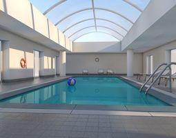 3D model Indoor Swimming Pool