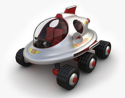 3D Toy space vehicle