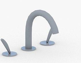 1661 - Water Tap 3D asset