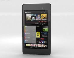 Google Nexus 7 2013 84358 3D Model